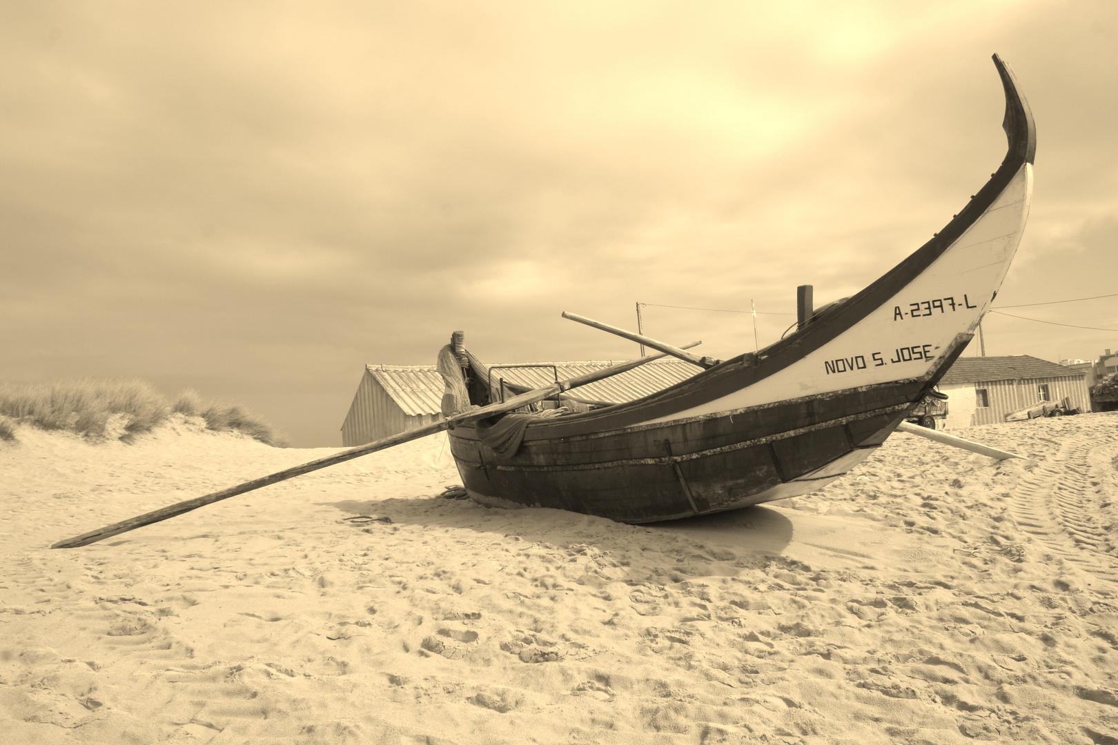 Bateau de pêcheur