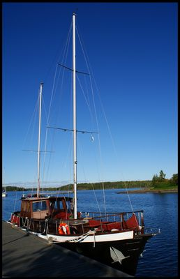 Bateau in Lappeenranta's harbour
