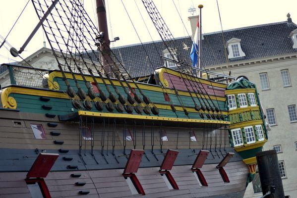 Bateau marchand Amsterdam