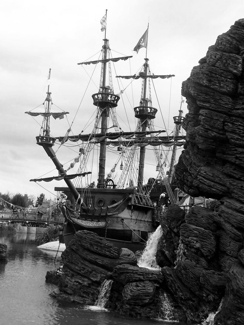 Bateau pirate du Catipaine Crochet