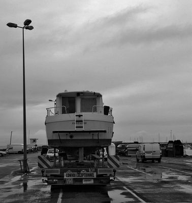 bateau roulant