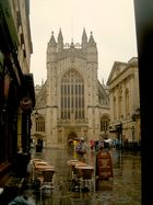 Bath Abbey in the Rain