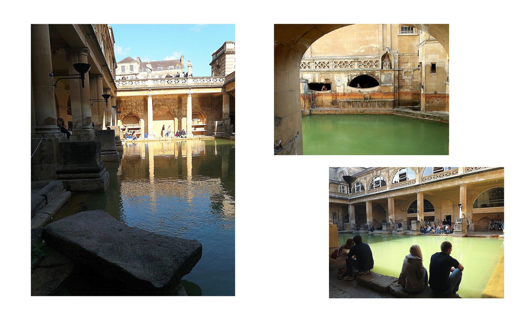 Bath...le terme romane...