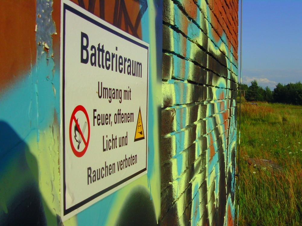 BATTERIE-RAUM in Schwanheide