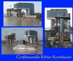 Bau der Kölner Kranhäuser