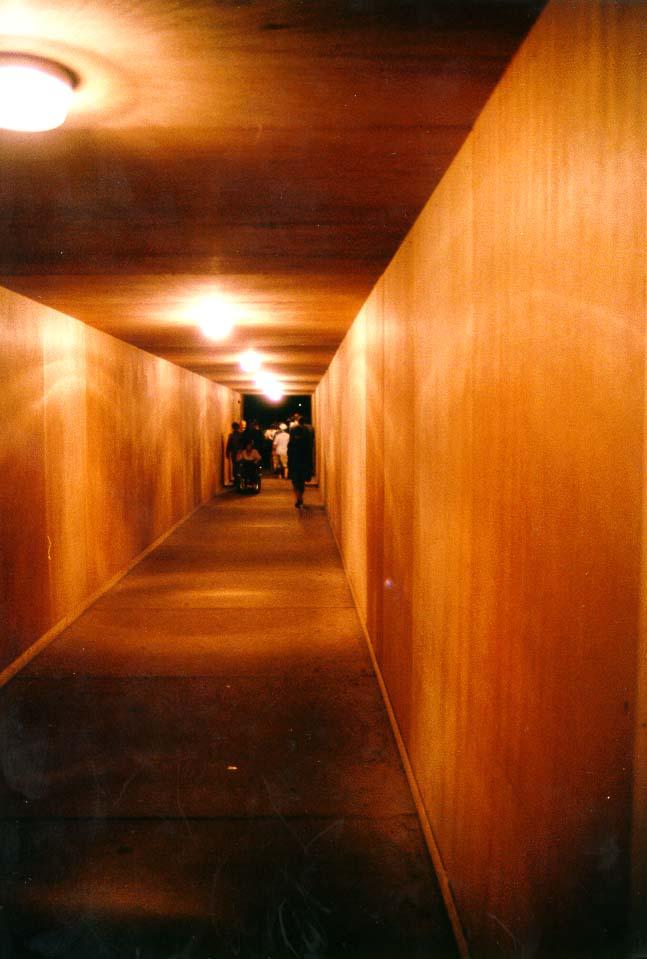 Bau-Tunnel im Strasbourger Münster