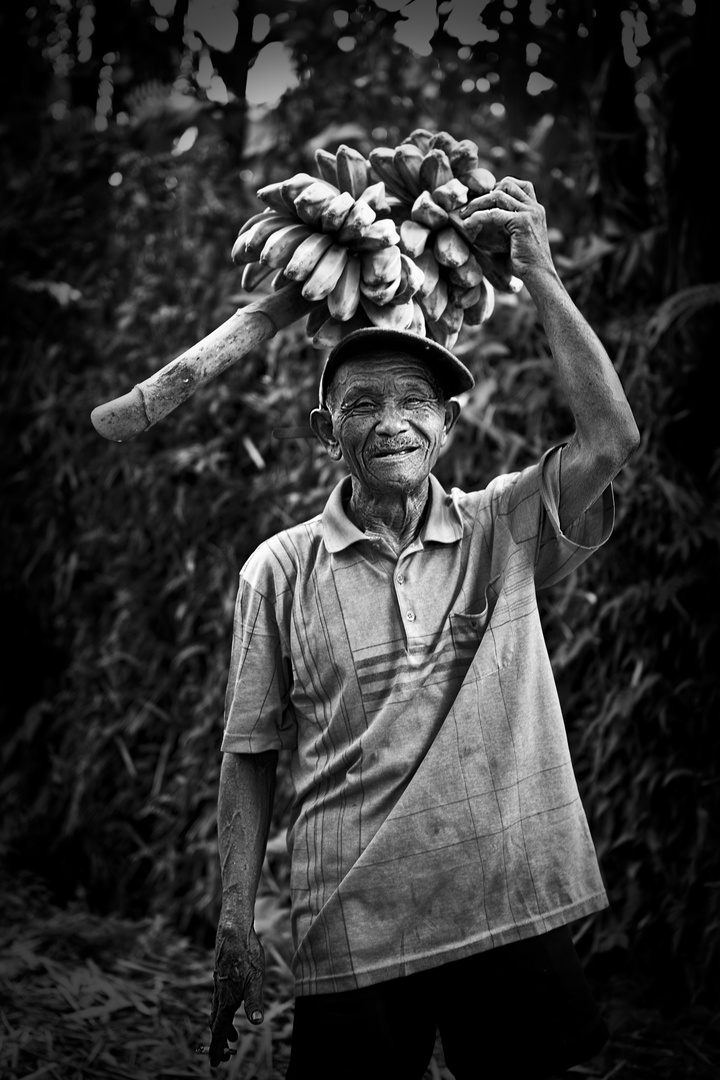 Bauer auf Bali