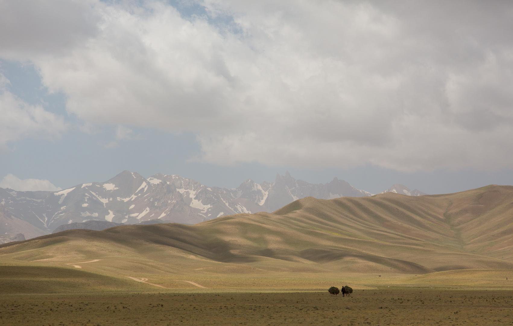 Bauer im Hochland von Bamyan, Afghanistan