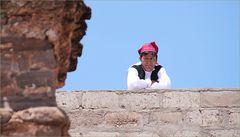 Bauer mit Muetze ... in Peru