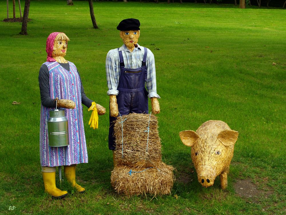 Bauernfamilie