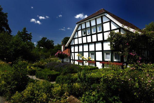 Bauerngarten in Kurpark Rödinghausen