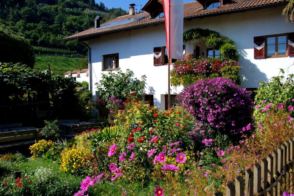 Bauerngarten in Lana