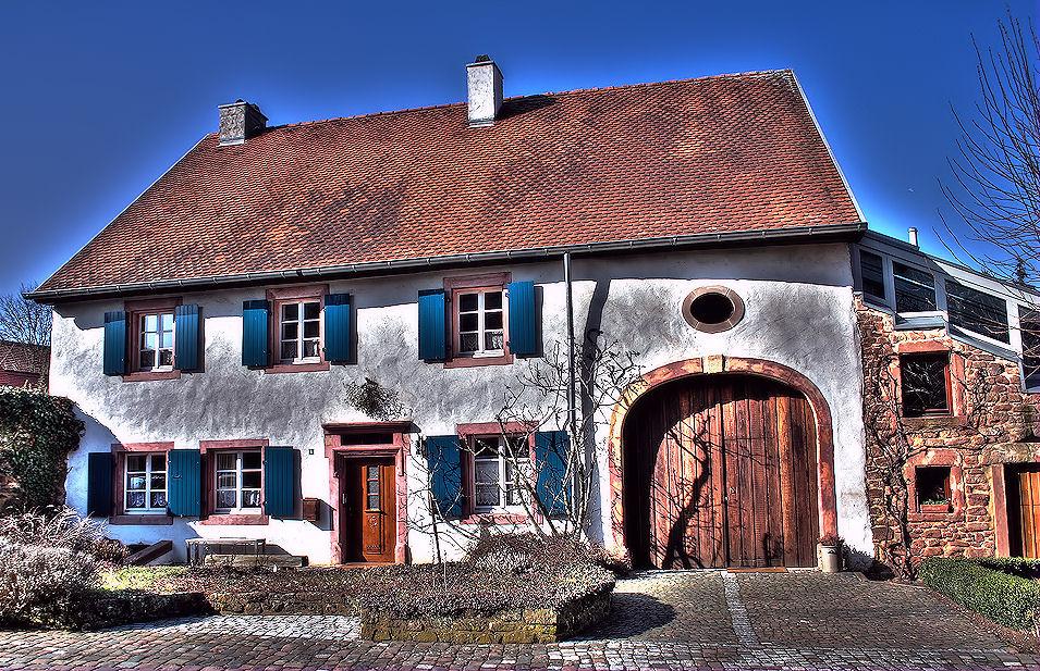 Bauernhaus der Region