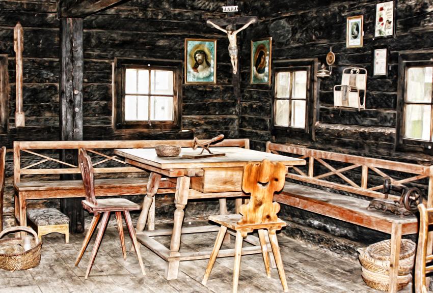 Bauernhaus im 17-18 Jahrhundert