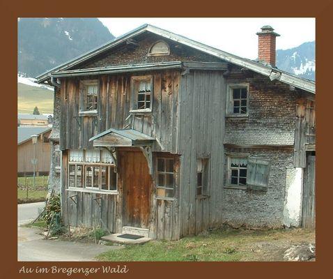 Bauernhaus im Bregenzer Wald