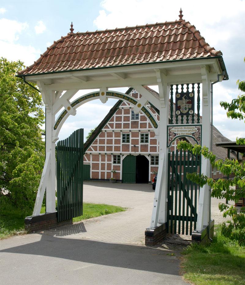 Bauernhaus in Norddeutschland