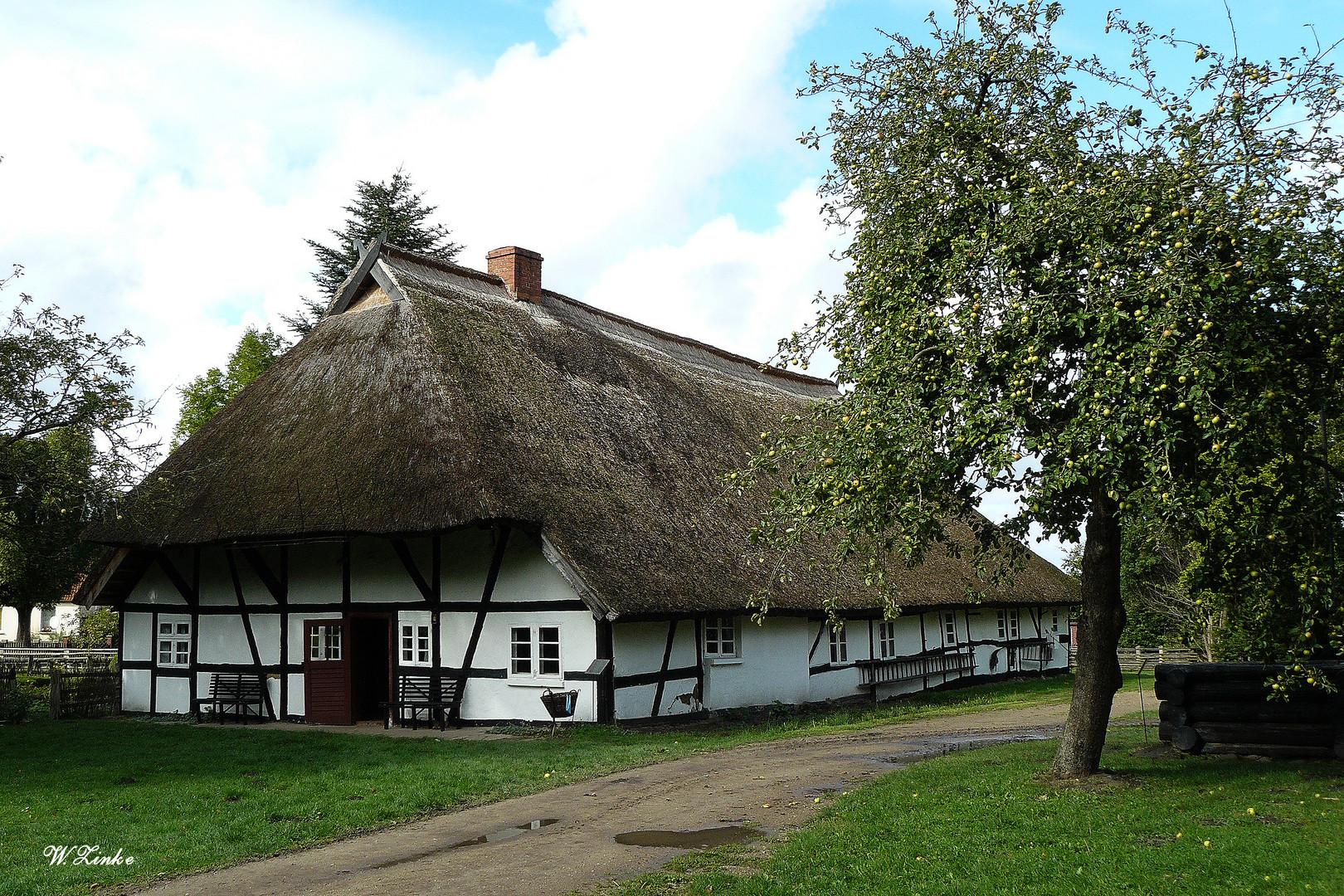 Bauernhaus Klockenhagen um 1700