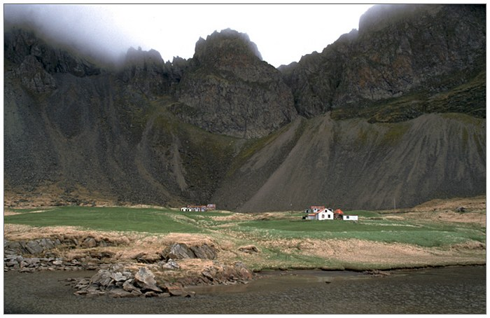 Bauernhof Hvalnes Südisland