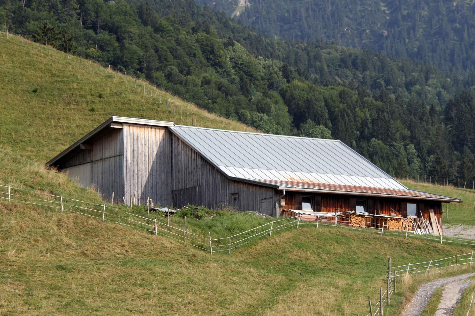 Bauernhof in Oberstdorf