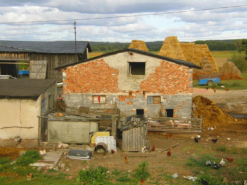 Bauernhof in Polen