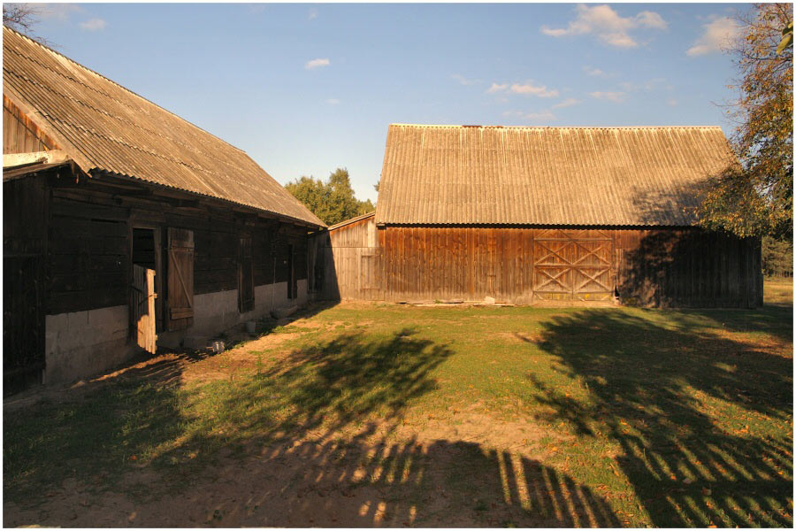 Bauernhof in Ruhestand