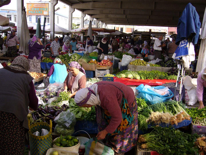 Bauernmarkt in Manavgat