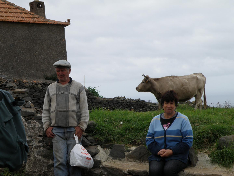 Bauernpaar auf Madeira