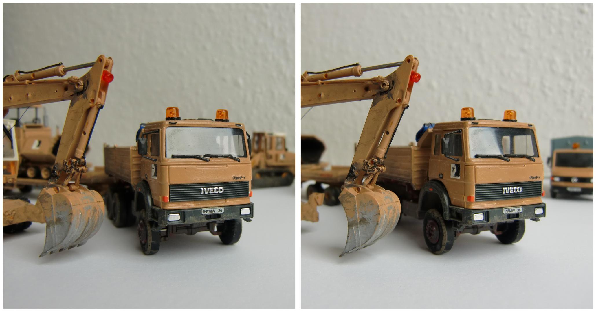 Baufahrzeuge 2 in H0 1:87