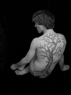 Baum-Kunstwerk