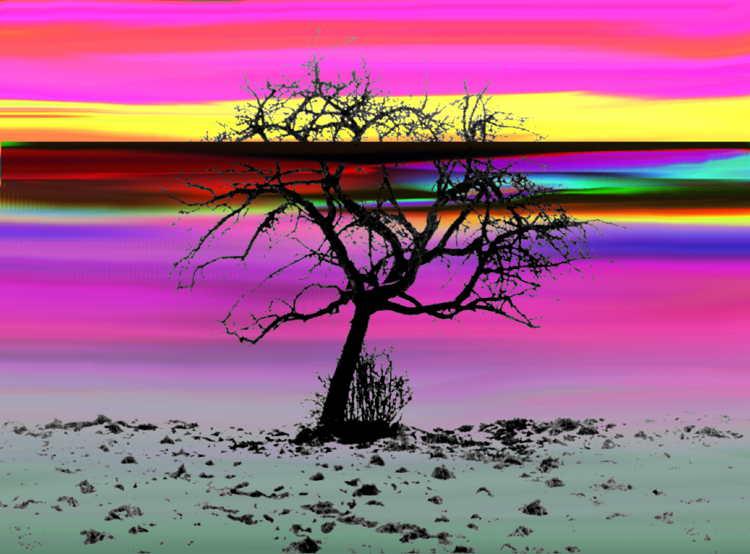 Baum - Pop - Art