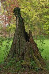 Baum-Skulptur