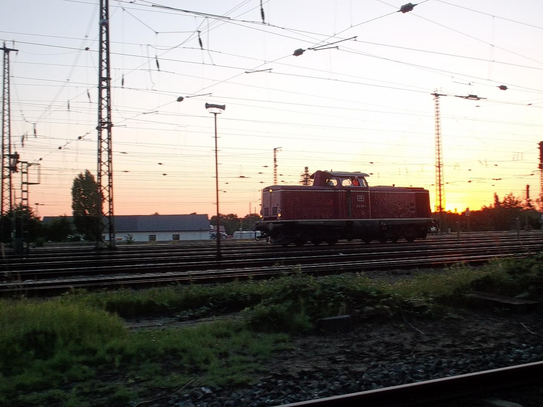 Baureihe 212 in Darmstadt Hbf