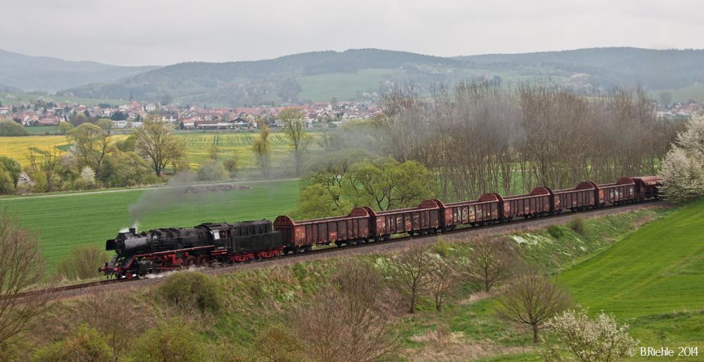 Baureihe 50 hinter Wernshausen