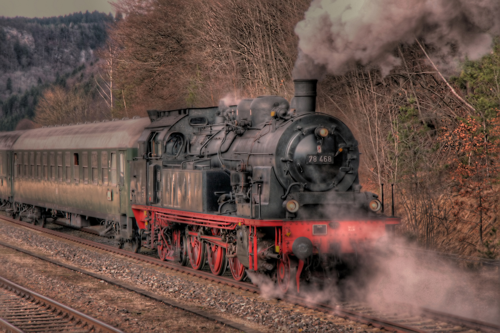 Baureihe 78 468 am 27.03.2010