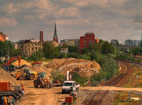Baustelle Bhf. Ostkreuz