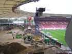 Baustelle Cannstatter Kurve (Mercedes-Benz-Arena - Stuttgart) 25.09.2010 -1-