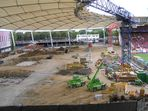 Baustelle Cannstatter Kurve (Mercedes-Benz-Arena - Stuttgart) 29.08.2010 -1-