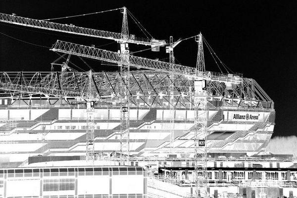 Baustelle der Allianz-Arnea