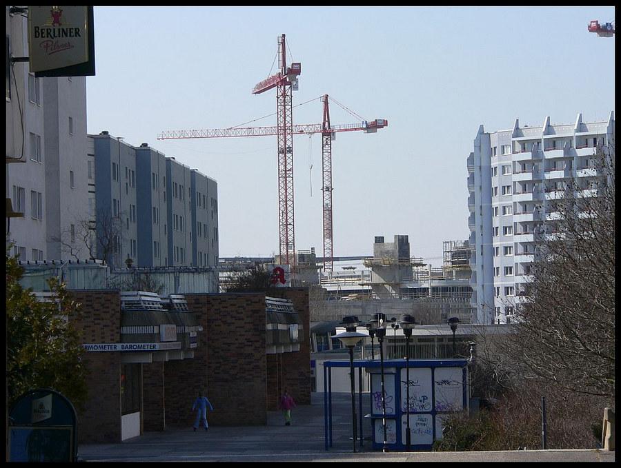 Baustelle Eastgate