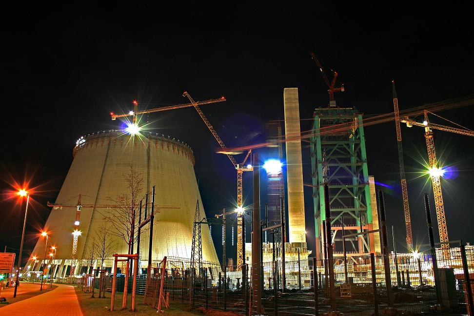 Baustelle EVONIK KW Walsum