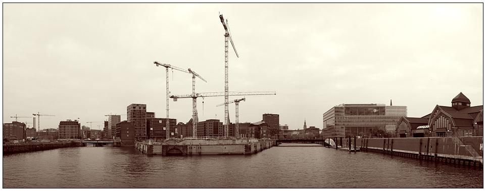 Baustelle Hamburg
