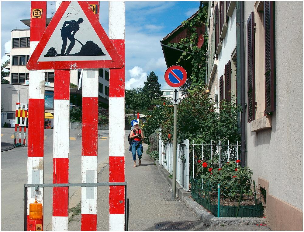 .... Baustelle in Basel ...