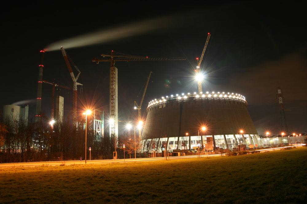 Baustelle in Duisburg-Walsum