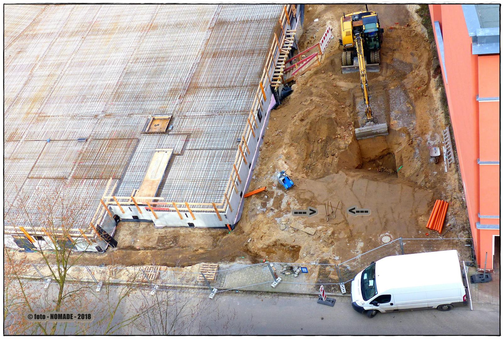 Baustelle Petersilienstr