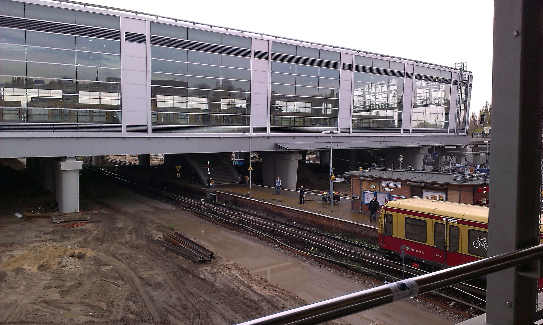 Baustelle S-Bahnhof Ostkreuz
