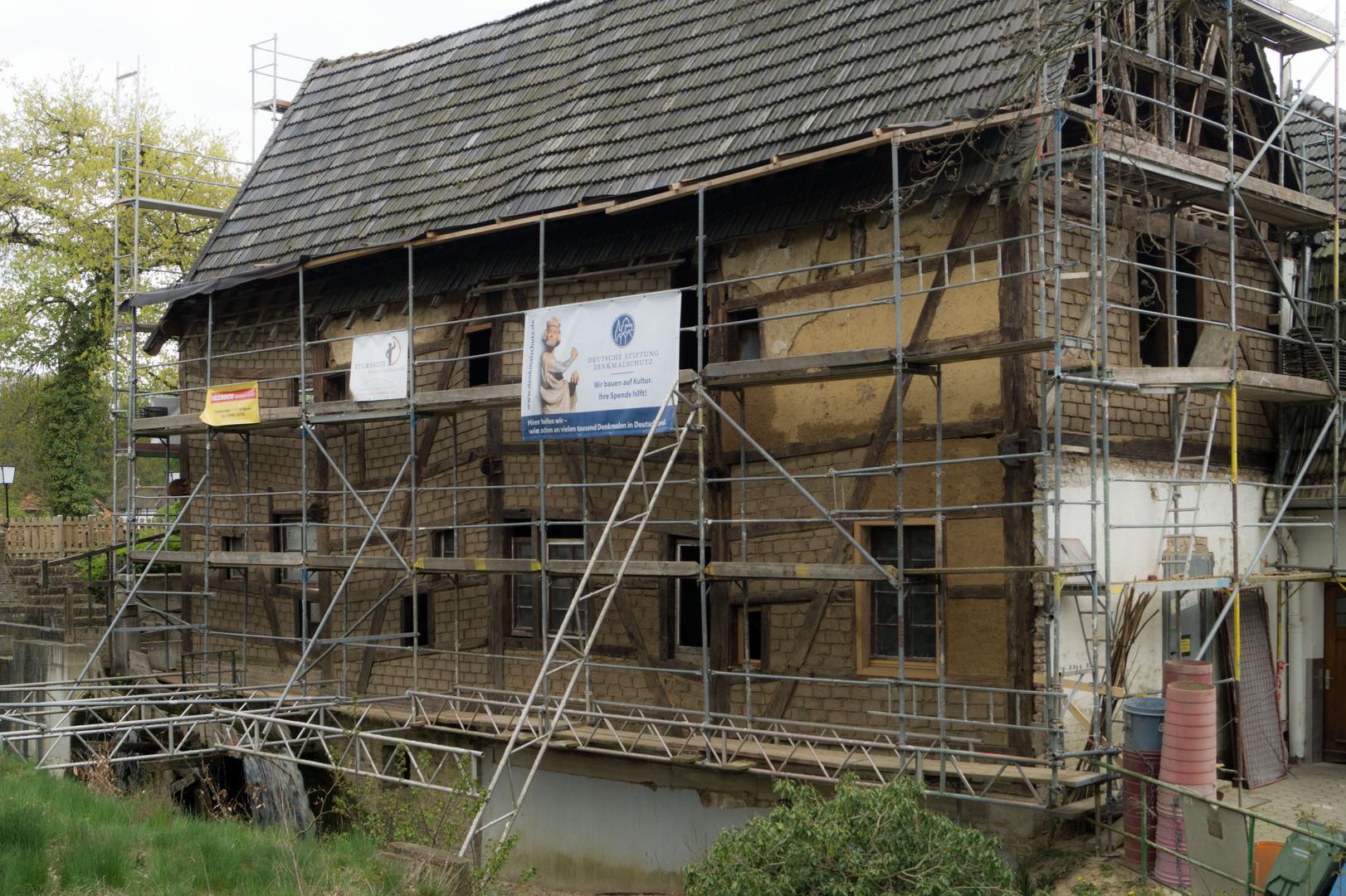 Baustelle Tüschenbroicher Mühle Update