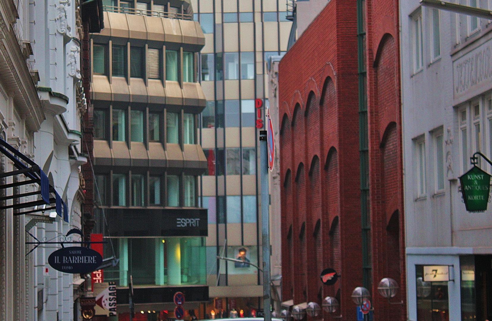 Baustile in Hamburgs City