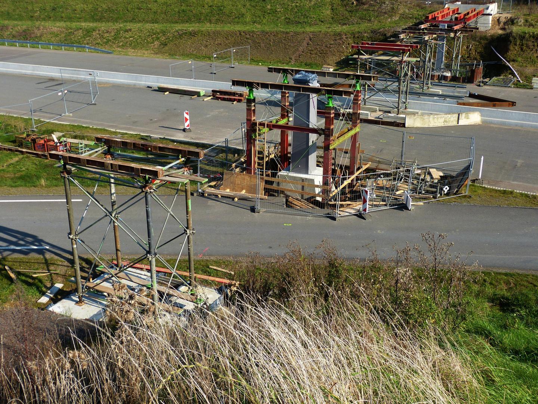 Baustopp wegen Insolvence des Stahlvertragspartners