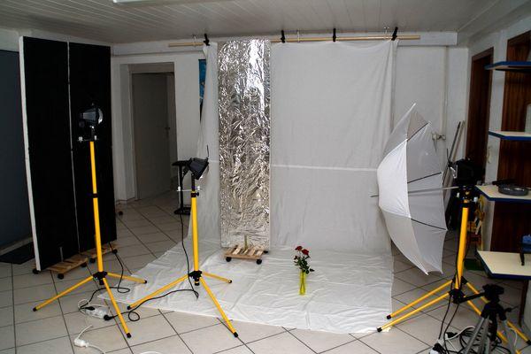 Baustrahler-Studio