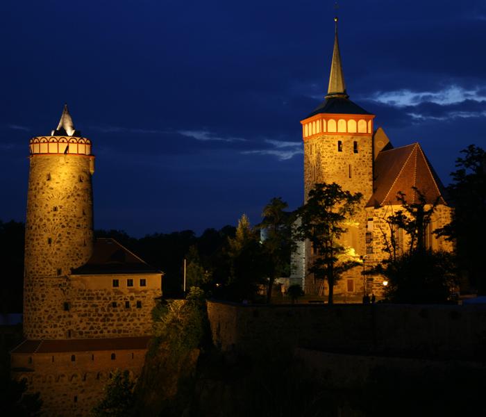 Bautzen - Nachtansicht